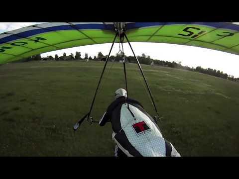 Hang Glider gone wild- 1.st Combat flight