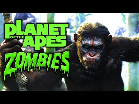 PLANET OF THE ZOMBIE APES (Black Ops 3 Zombies)