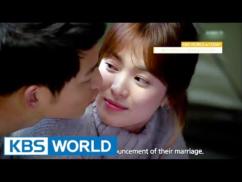 KBS WORLD e-TODAY : Behind Stories on Song Joongki-Song Hyekyo Couple [ENG/2017.07.06]