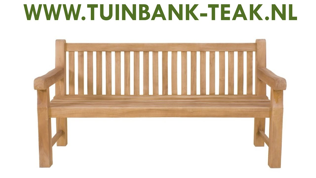 Tuinbank 120 cm   Tuinbank Teak Britania   Tuinbank Britania voor Slechts  u20ac139,  Te Koop   YouTube