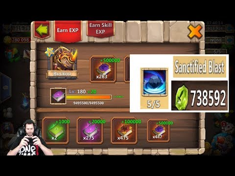 JT's Main Double Evolving ROCKNO Finally Paying Shards Castle Clash
