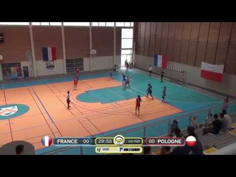 ASV TV - Handball - France Vs Pologne - Georges ILTIS 2015 Tournament