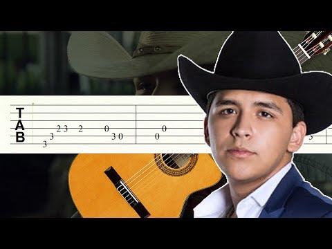 Adios Amor / Christian Nodal / Guitarra Tutorial / Tablatura
