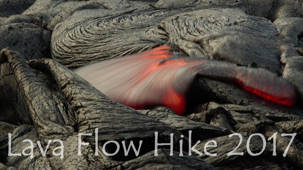 Hike To Lava Flow Big Island