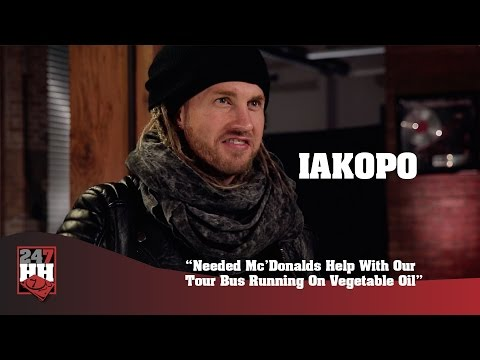 Iakopo - Needed Mc'Donalds Help With Our Tour Bus Running On Vegetable Oil (247HH Wild Tour Stories)