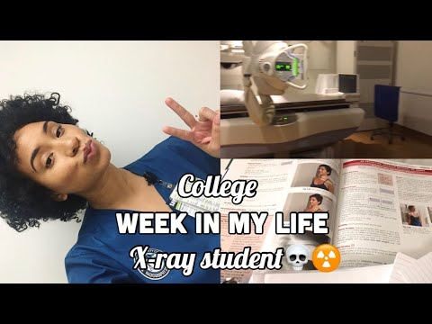 COLLEGE WEEK IN MY LIFE | RAD TECH STUDENT | X-RAY SCHOOL