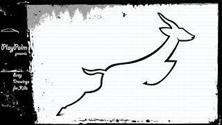 How to Draw SPRINGBOK