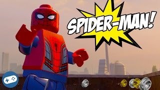 Spiderman Lego Marvel's Avengers Free Roam Gameplay New York