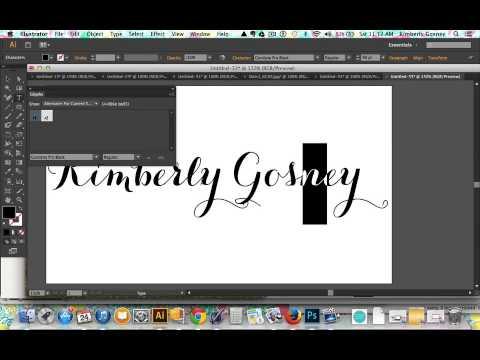 Create Glitter Text In Adobe Illustrator Youtube