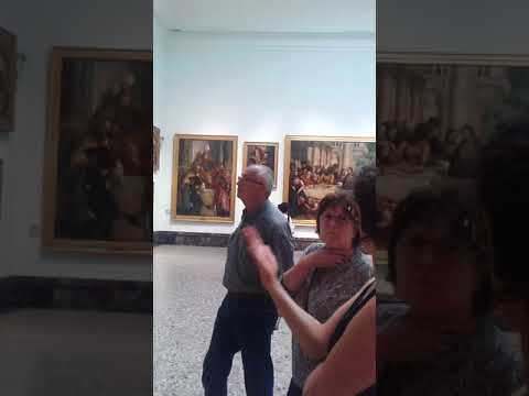 Pinacoteca di Brera Art Gallery Tour With Walks of Italy Milan Part 2 June 2016