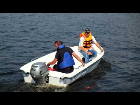 Тест-драйв катера Fish