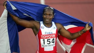 Osleidys Menendez / Cuba 71.70m / World record Women's Javelin throw