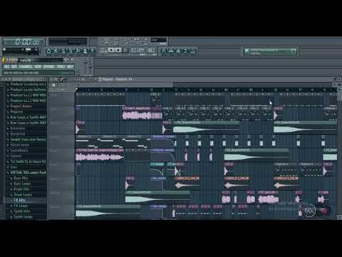 How I Make Dirty UK Garage, Bassline, 4x4, UK Bass House Music Using FL Studio And NI Massive