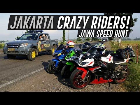 Crazy Riders Tour de Jawa Ngebut Gas Pol ZX10R GSX1000 ZX6
