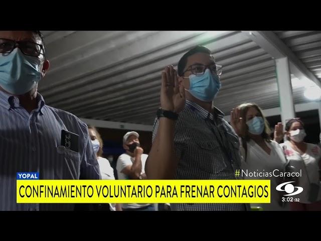 CONFINAMIENTO VOLUNTARIO EN CASANARE PARA FRENAR CONTAGIOS DE COVID-19