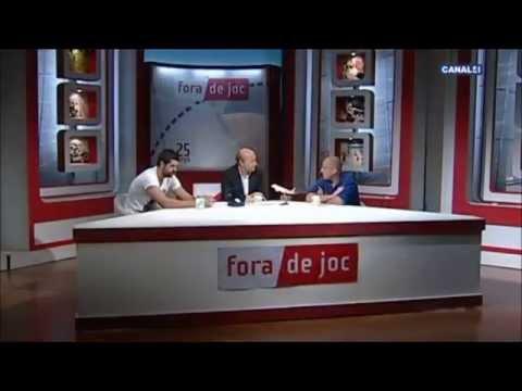 Cepeda y Matemalas invitados en el 'Fora de Joc' (Canal4)
