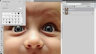 Изменение цвета глаз в Photoshop (22/40)