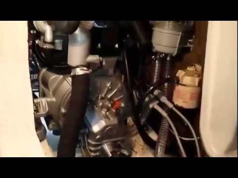 Craftsman Marine engine on Beneteau 281