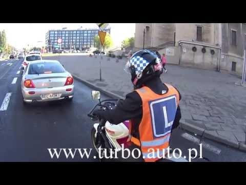 1.Przykładowa Trasa kategorii A,A1,A2 Word Łódź Smutna - egzamin z Szkoła motocyklowa TURBO