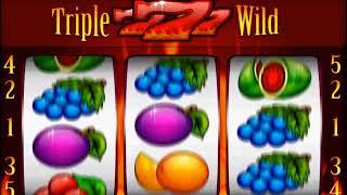 Výherní automat - Triple Wild Seven