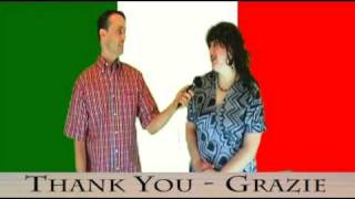 Italian/American English Lessons:  Series 1: Video 1