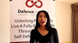 Ellen's Testimonial for Warren Ho's Self-Defence Workshop