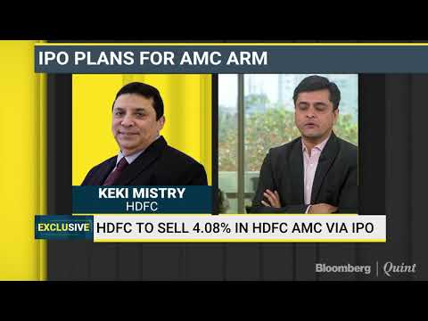HDFC, Standard Life To Sell 12% Stake In HDFC AMC Through IPO