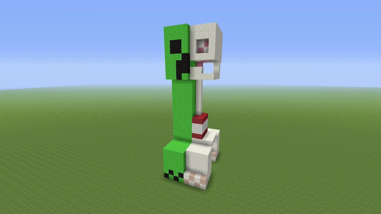 Creeper Building Minecraft