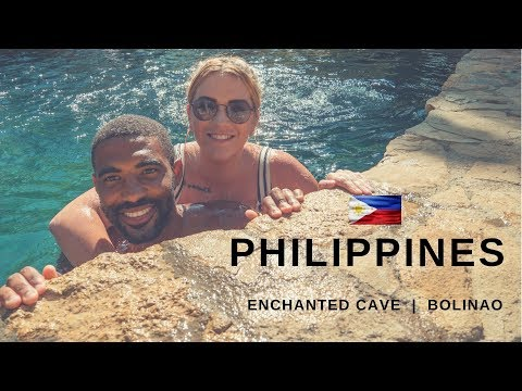 BOLINAO PHILIPPINES - The Enchanted Cave | PANGASINAN
