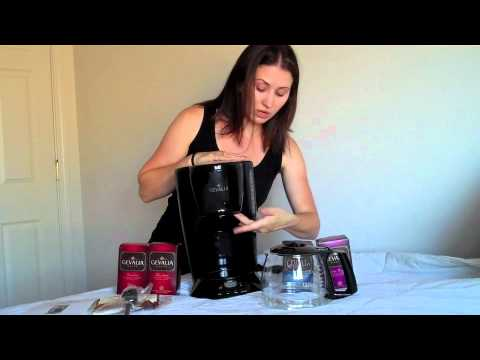 Gevalia coffeemaker & coffee for USD 9.99 - YouTube