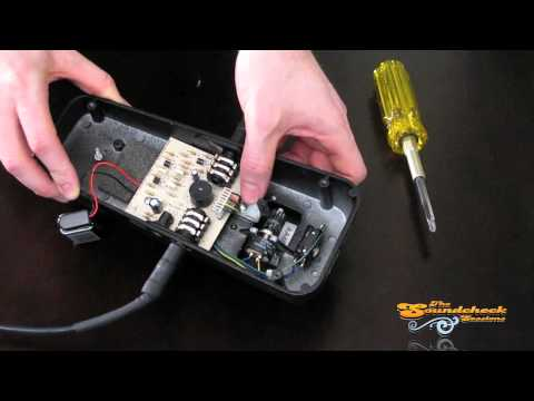 Change a Dunlop Cry Baby Wah Pedal's Tone With Just a Screwdriver