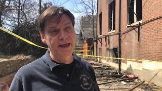 Director discusses aftermath of museum fire