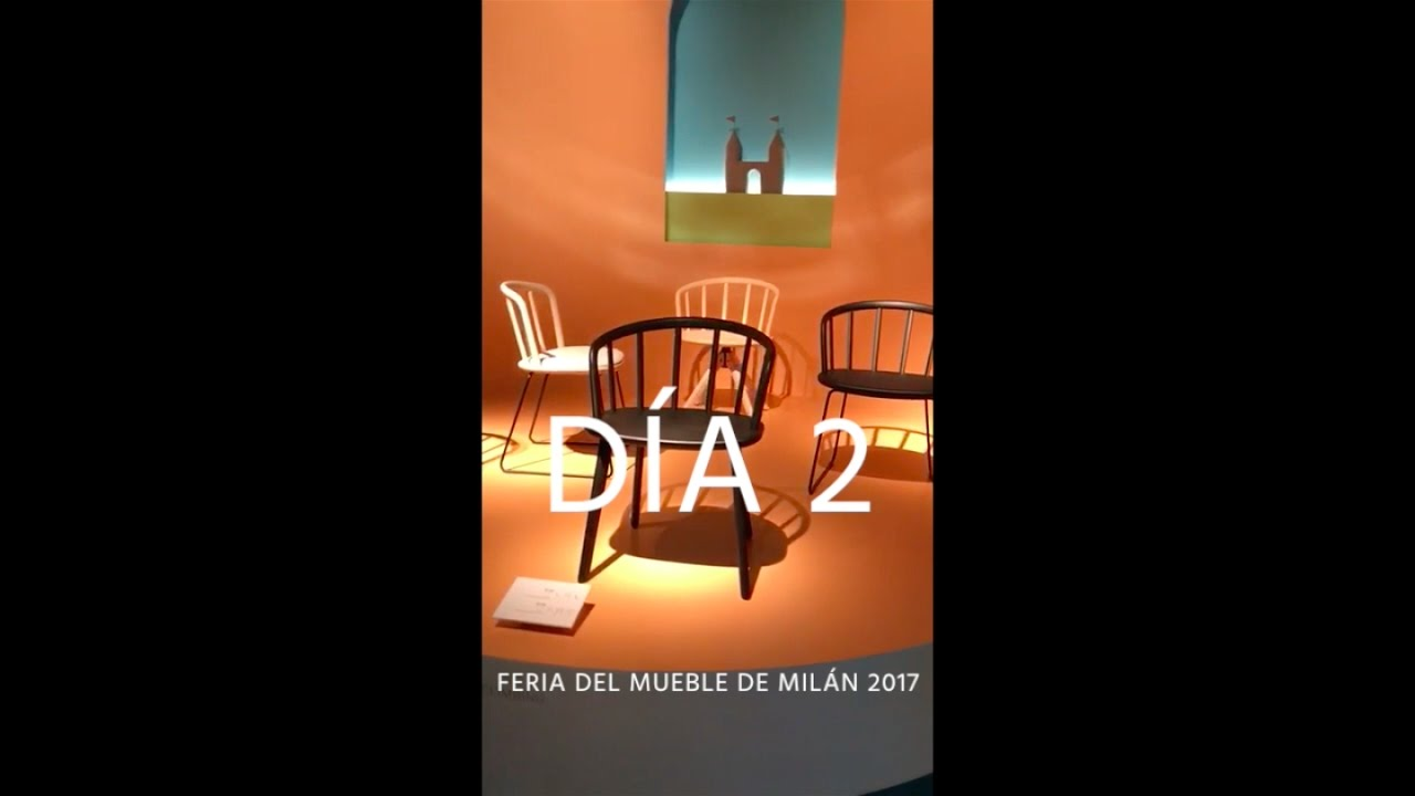 Feria del mueble de mil n 2017 segundo d a muebles for Feria del mueble milan 2017
