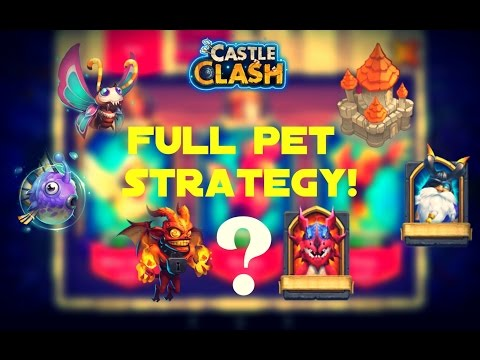 Castle Clash; Pets Update + FULL Strategy Guide!