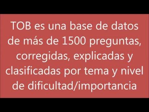 TOB - Tutor para Opositores a Bombero