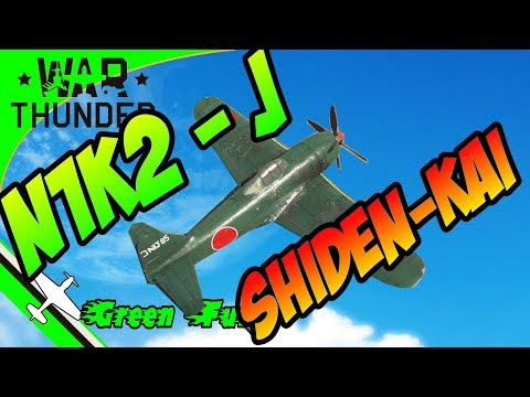 N1K2-J Shiden-Kai - War Thunder - How to use compression as an advantage?