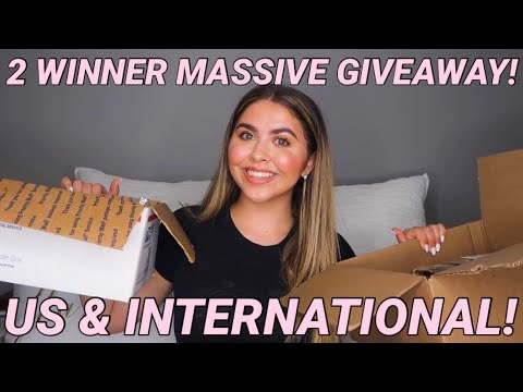 MASSIVE SPRING GIVEAWAY! ( 2 winners, US & international) OPEN!❤️ (ends April 8th)