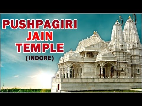 Darshan Of Pushpagiri Jain Temple - Indore - Indian Temple Tours