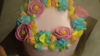 Украшение торта БЗК.