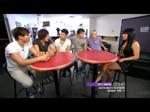 One Direction talking about The Wanted -Much Music 2012