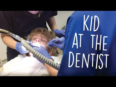 Just a Kid goes to the Dentist | The Kids just playing with mums makeup!