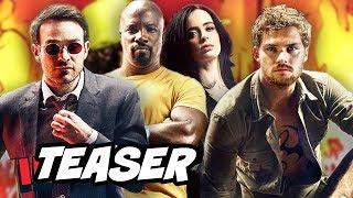Defenders Season 1 Viral Teaser Trailer Breakdown - Daredevil, Iron Fist, Luke Cage, Jessica Jones,