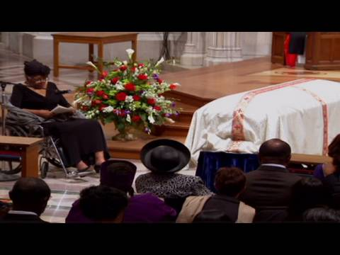 Dorothy Height honored at funeral
