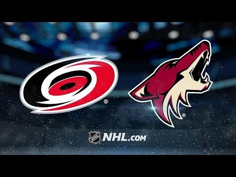 Carolina Hurricanes vs Arizona Coyotes | Nov.2, 2018 | Game Highlights | NHL 2018/19 | Обзор Матча