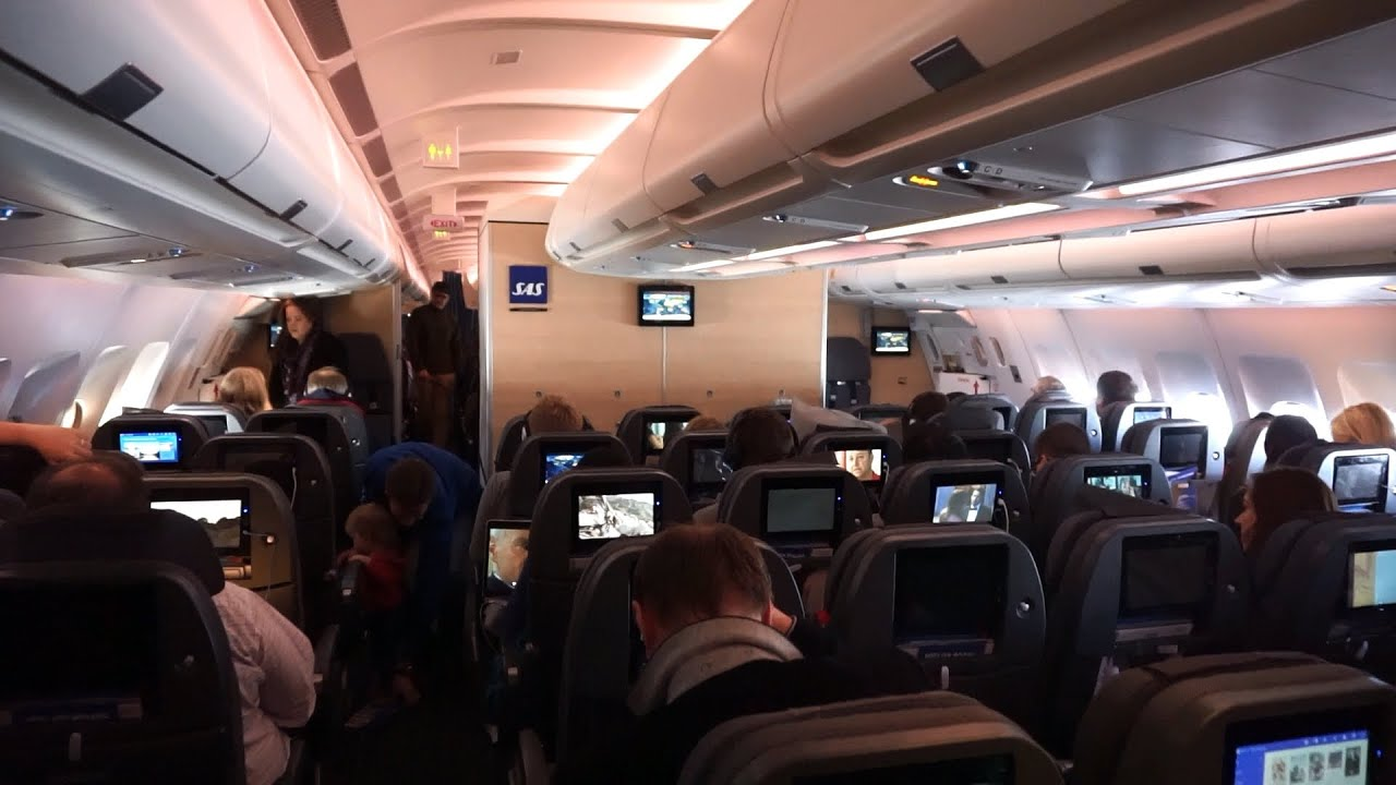 New Cabin Sas Scandinavian Airlines Airbus A330 300