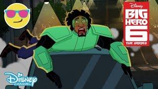 Big Hero 6 | Car Thief? | Disney Channel UK