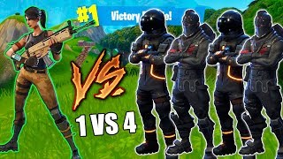 MY FIRST EVER SOLO VS SQUADS in FORTNITE! Did I WIN?!?! (Fortnite Battle Royale)