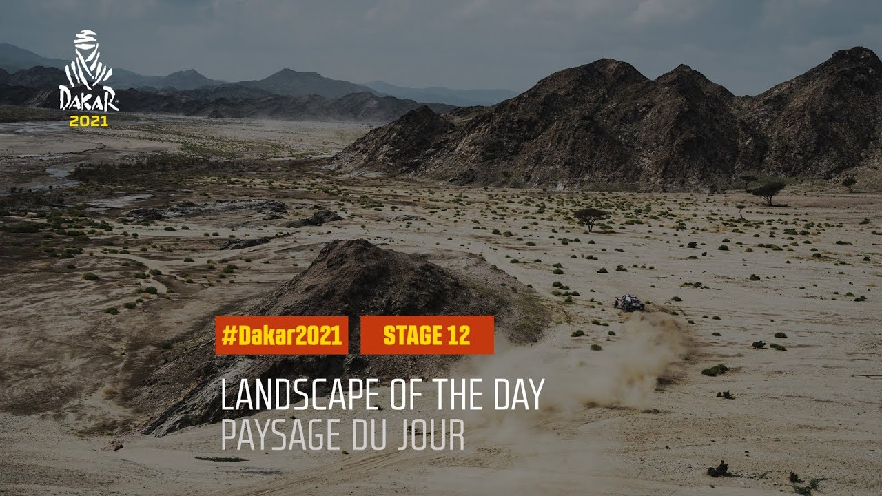 #DAKAR2021 - Stage 12 - Yanbu / Jeddah - Landscape of the Day