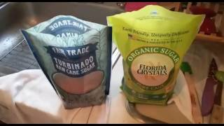 SUGAR: Turbinato vs. Evaporated Cane Juice, Which Is Best For Sport?