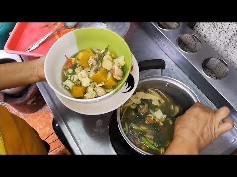 awesome food of bamboo shoot curry ( Laos food recipes ) - Asian food